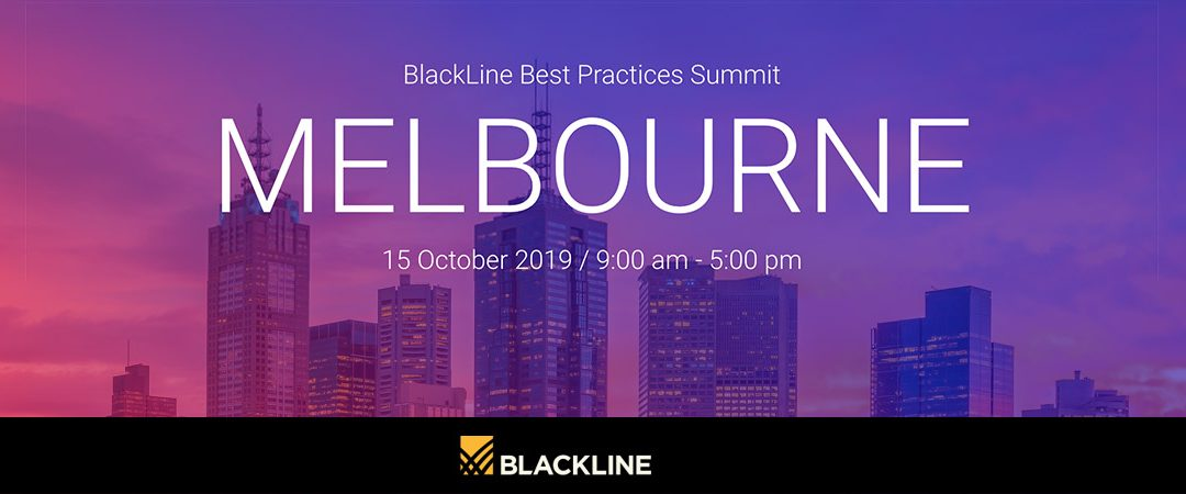 Best Practices Summit – BlackLine