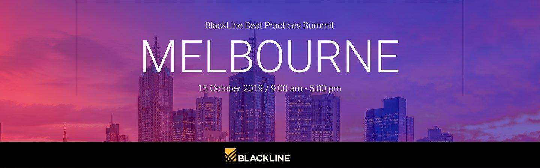 Best Practices Summit – BlackLine