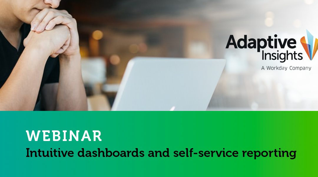 Adaptive Insights Webinar