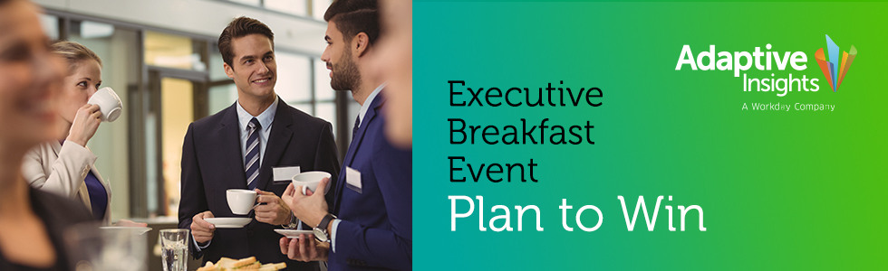 Plan to Win: Invitation – Executive Finance Breakfast