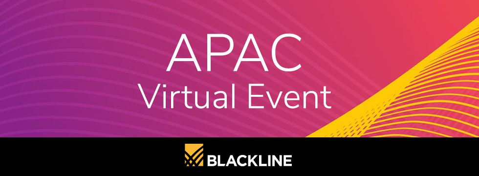 APAC Virtual Event – BlackLine
