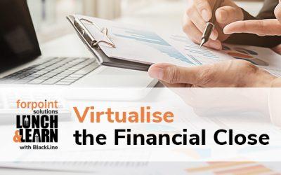 BlackLine Virtualise the Financial Close